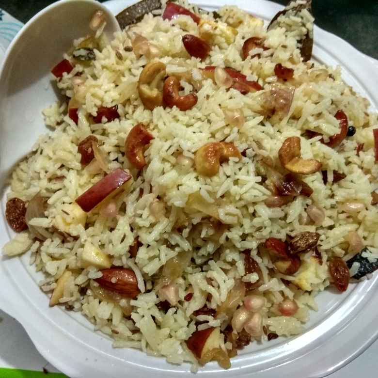Photo of Kashmiri pulao by Aruna Saraschandra at BetterButter