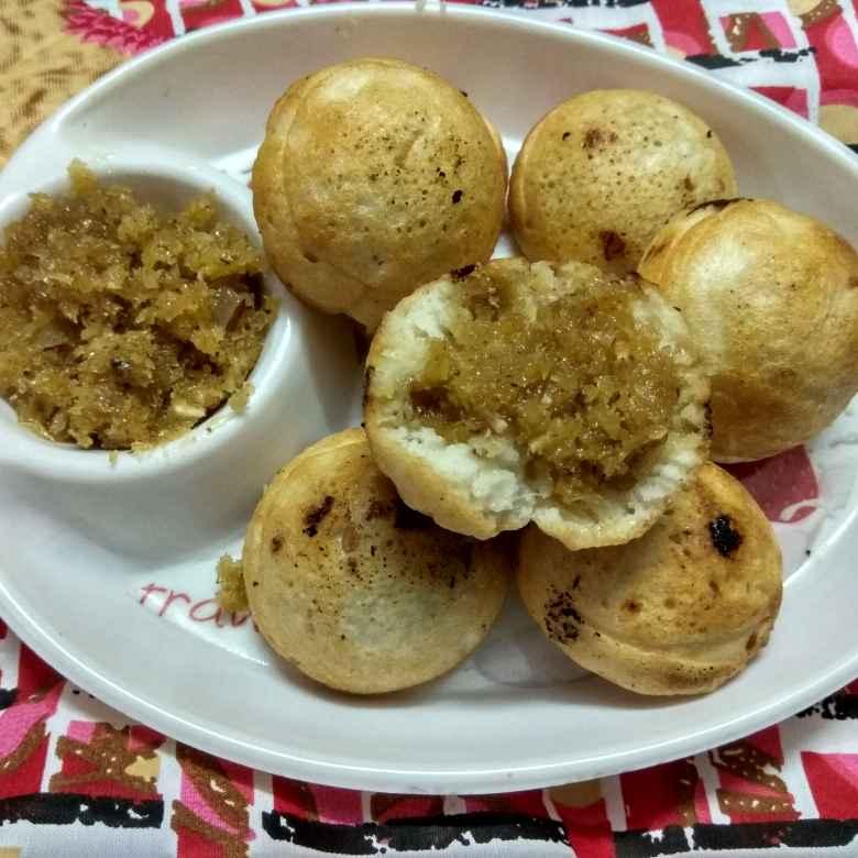 How to make Kobbari bellam ponganalu