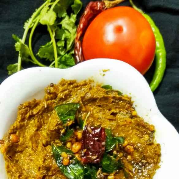 How to make Kothimira tomato pachadi