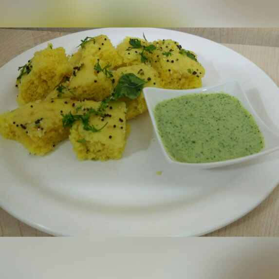How to make Instant Dhokla with Chutney