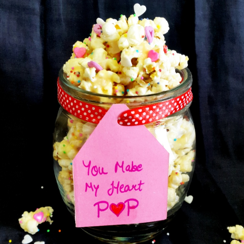 How to make Valentine's Popcorn