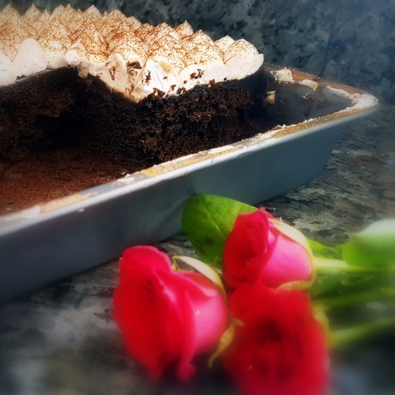 Photo of Grandmother's Blender Chocolate Cake With A Hint Of Cinnamon by Vibha Bhutada at BetterButter