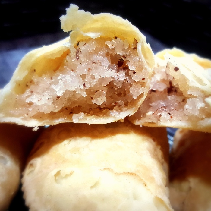 How to make Karanji (Sweet Fried Dumplings With Sweet Coconut Stuffing)