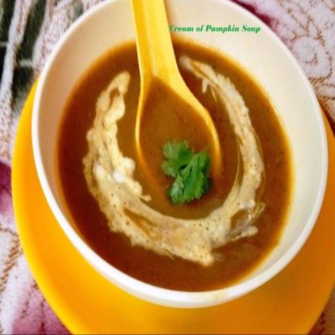 How to make Cream of Pumpkin Soup