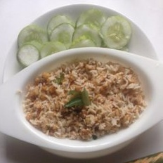 How to make Raw banana Podi - A one pot meal
