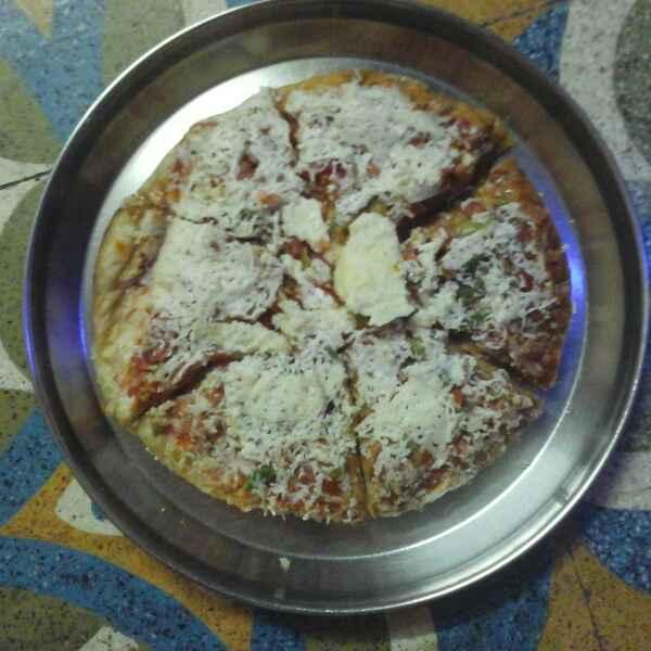 Photo of Chpati pizza by Vidya Gurav at BetterButter