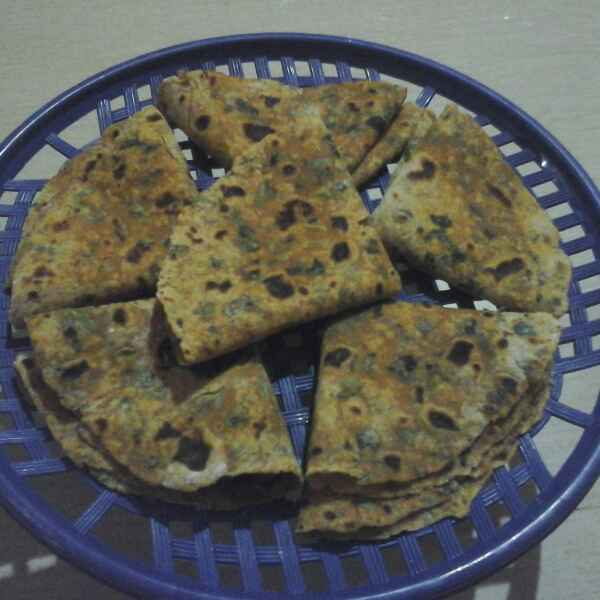 Photo of Methi pratha by Vidya Gurav at BetterButter