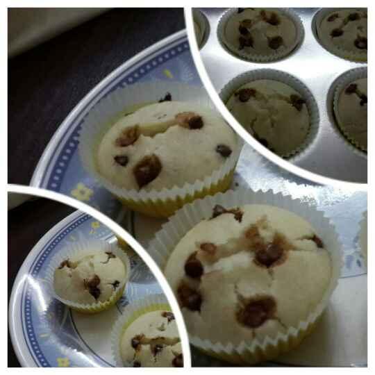 Photo of Chocolate Chip Cupcakes by Vidya Shriram at BetterButter