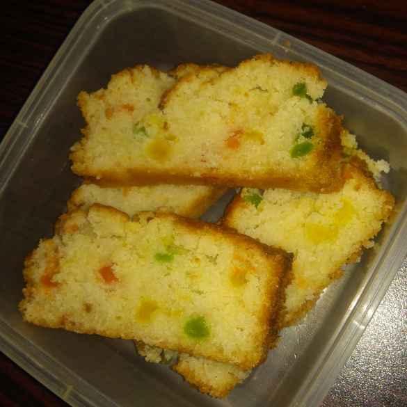 How to make Tuti Fruti Cake