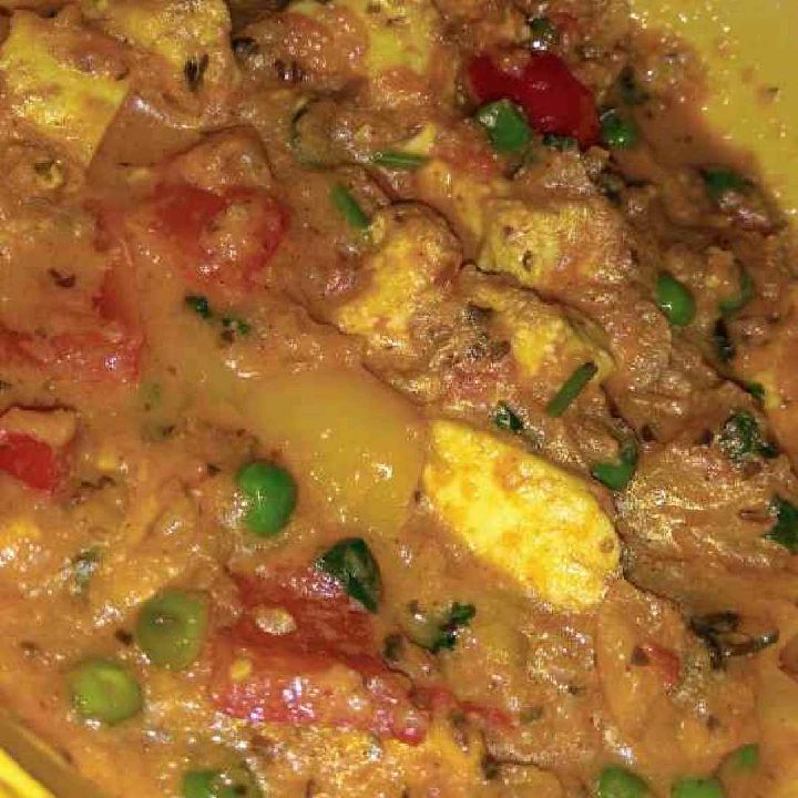 How to make Matar Paneer Curry