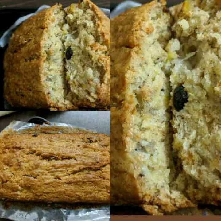 How to make Banana Cranberry Wheat bread