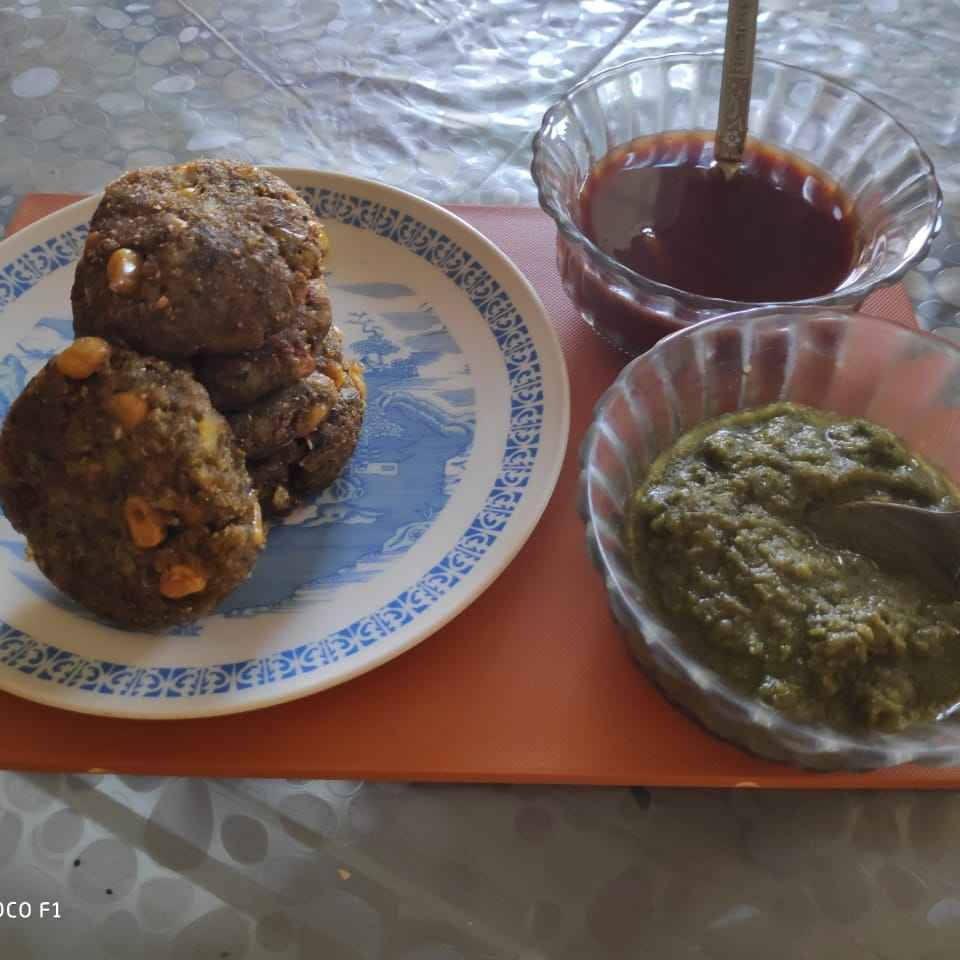 How to make Palak corn cutlets