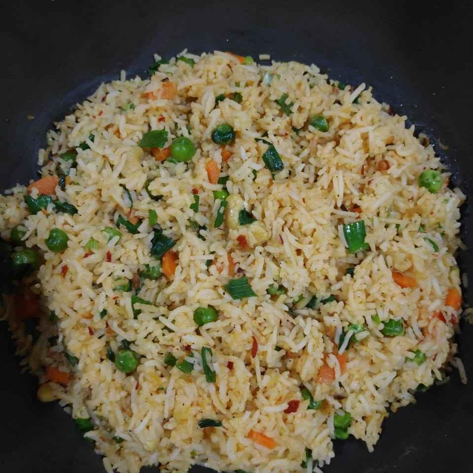 Photo of Schezwan fried rice by Vidyutaa Kashyap at BetterButter