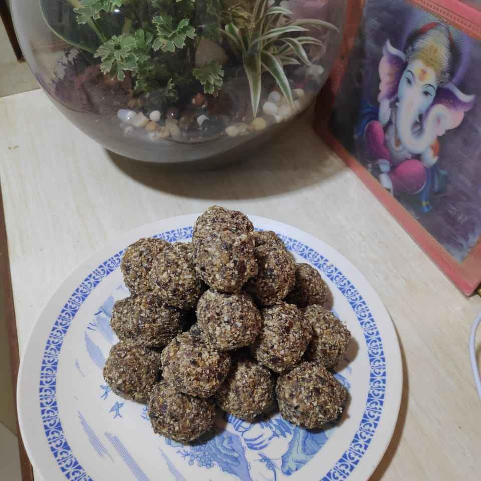Photo of Energy ladoo by Vidyutaa Kashyap at BetterButter