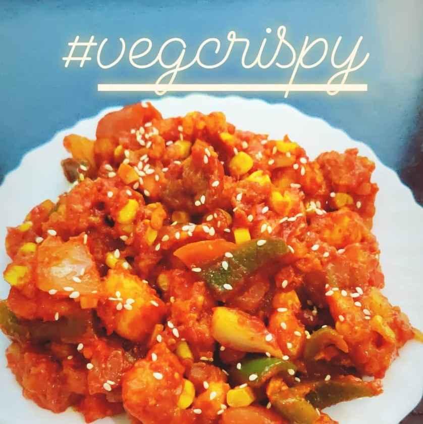 How to make Veg crispy