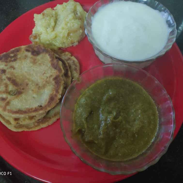 Photo of Vrat thali by Vidyutaa Kashyap at BetterButter