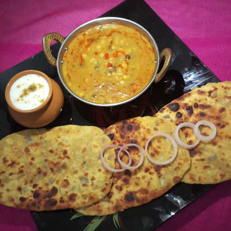 How to make PANCHMEL DAAL WITH BESAN ROTI