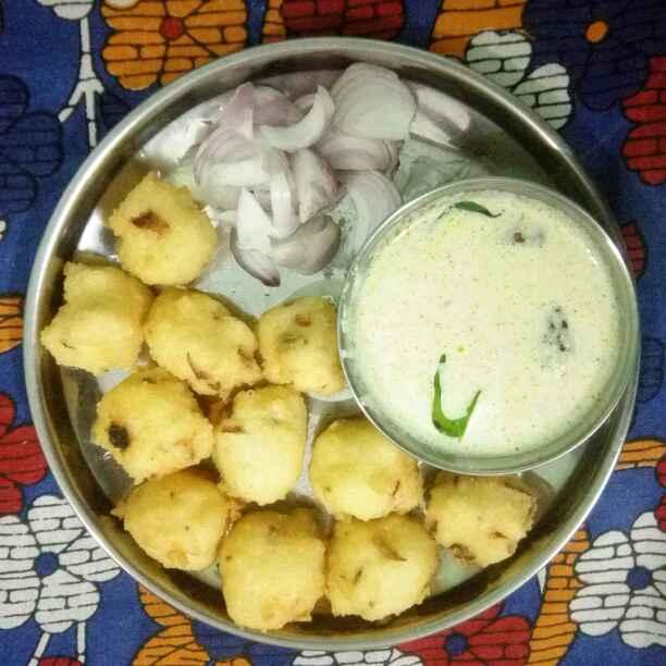 Photo of Punugulu with left over rice  by Vijaya Lakshmi Bandari at BetterButter