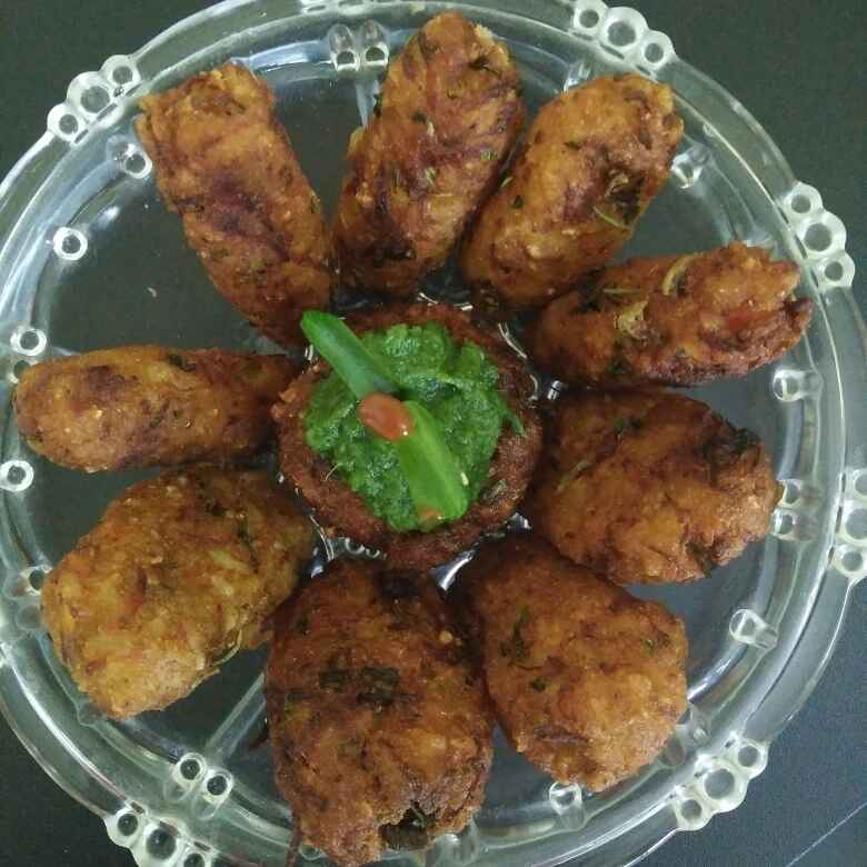 How to make Poha And  veggies Cutlet
