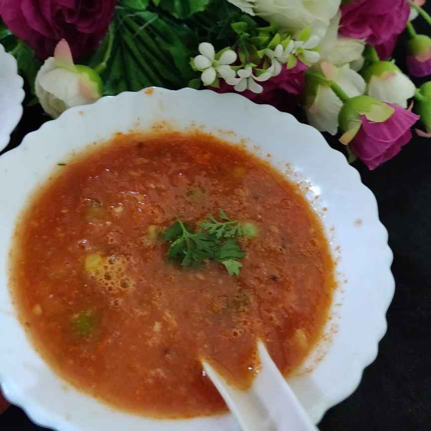 Photo of Carrot tometo soup by Vina Upasani at BetterButter