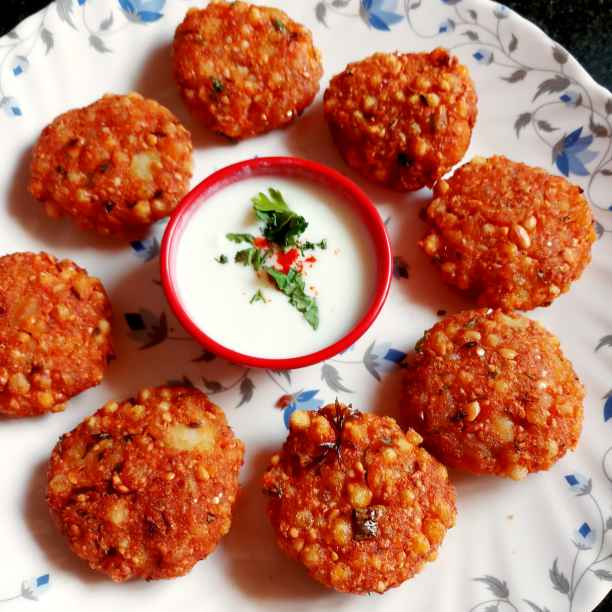 How to make Sabudana vada