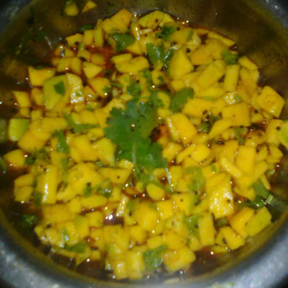 Photo of Raw mango pickles by amruta Devtale at BetterButter
