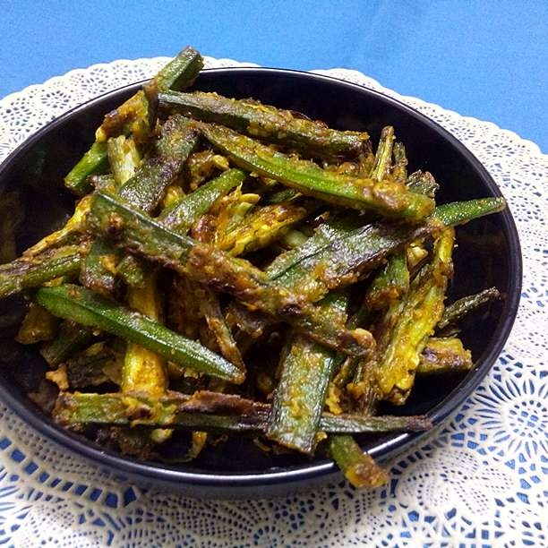 How to make Crispy Lady Finger