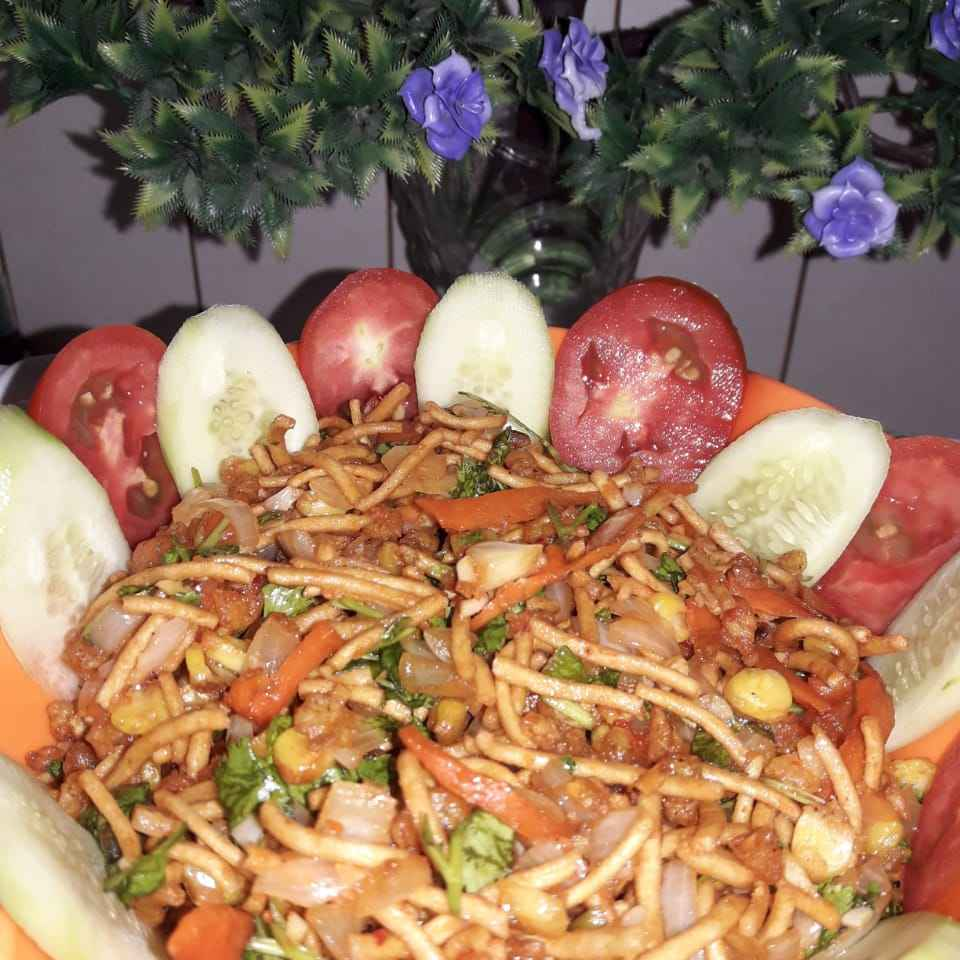 Photo of Indo Chinese bhel by Vini Lalwani at BetterButter