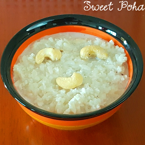 How to make Sweet Poha