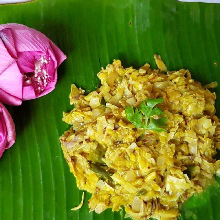 How to make Lotus flower Stir fry