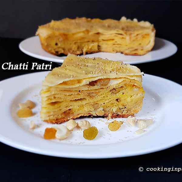 Photo of Sweet Chatti Pathri by Vins Raj at BetterButter