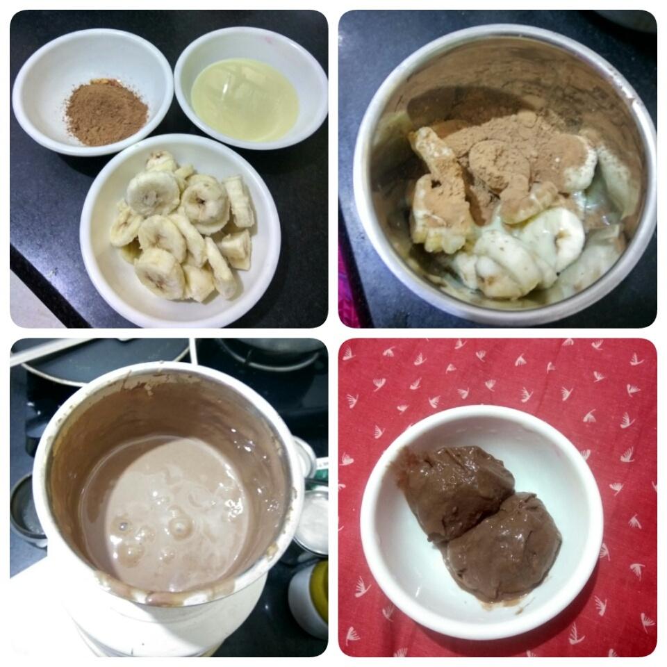 How to make Choco Banana Sorbet