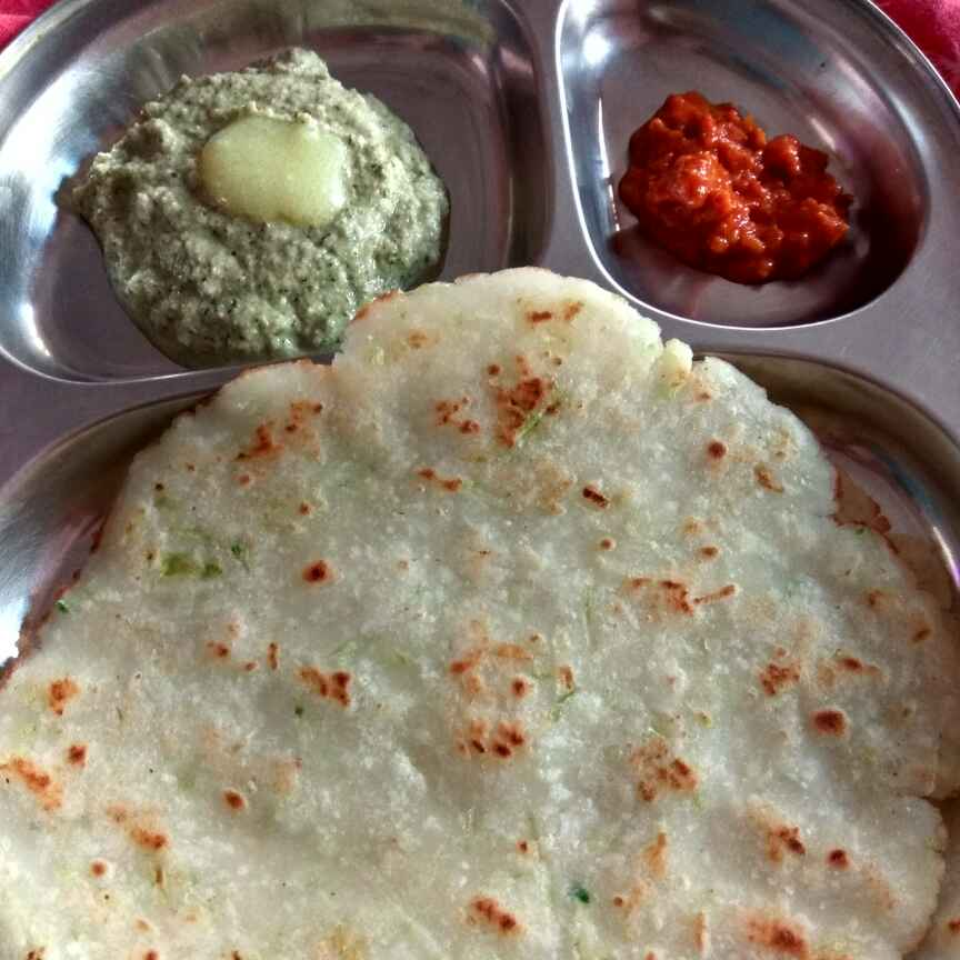 How to make Cucumber Rotti with cucumber chatni