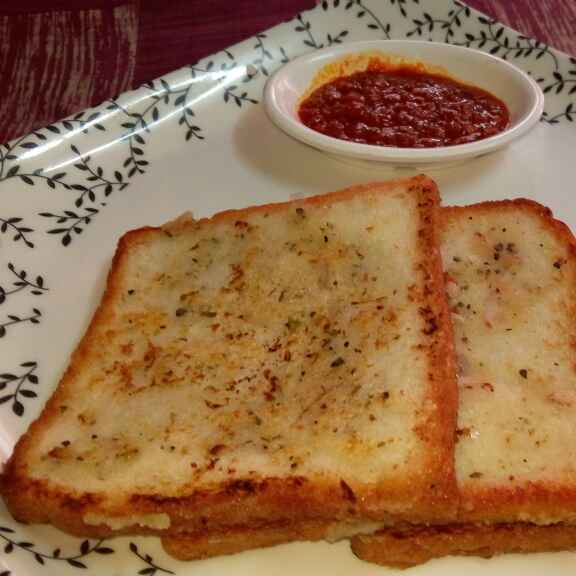 How to make Sooji Veggie Toast