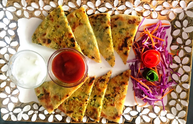 Photo of phool gobi paratha by Visha Jain at BetterButter