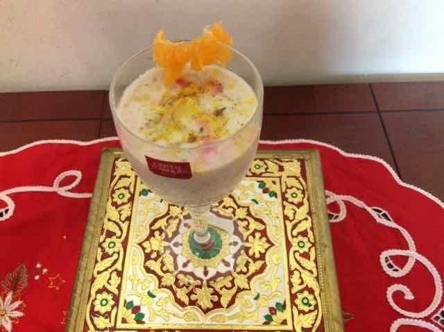 How to make oats apple shake