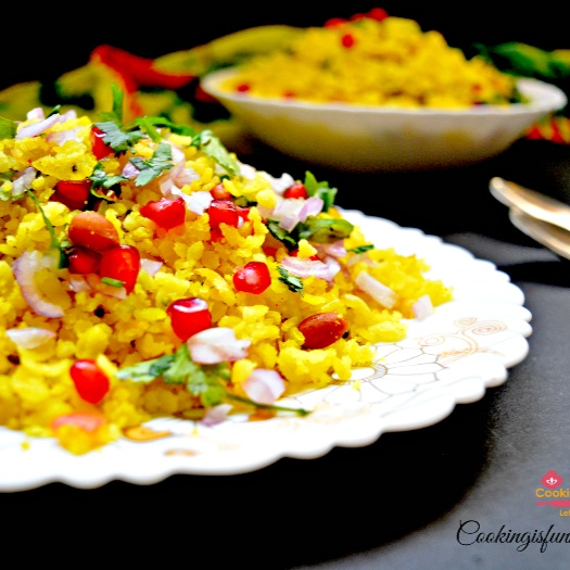 How to make Indori poha recipe