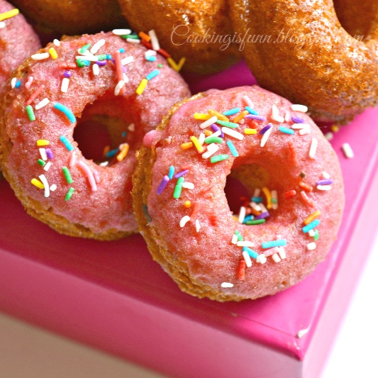 Photo of Eggless Baked Donuts by Waagmi Soni at BetterButter