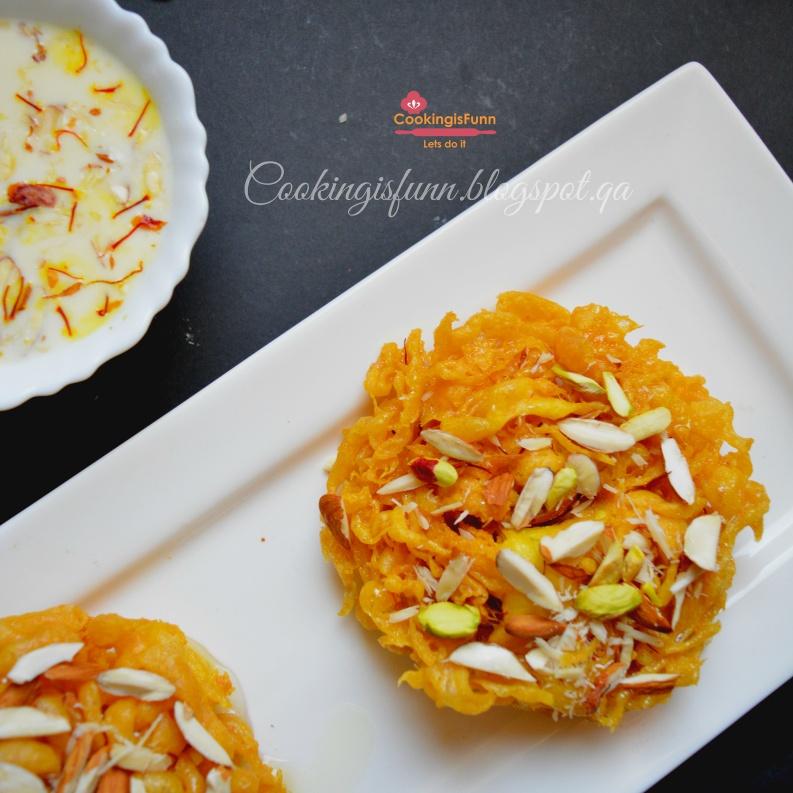 How to make Rajsthani Ghevar