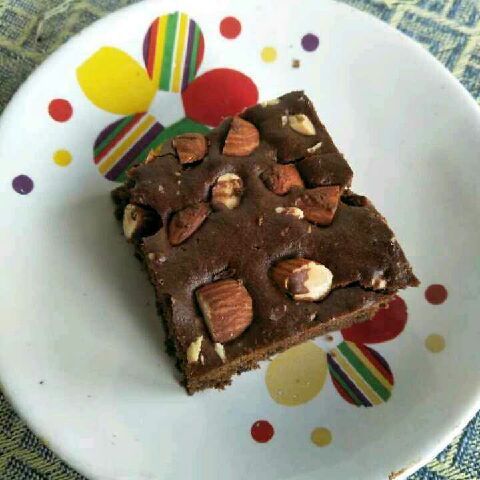 Photo of Tea time wheat brownie by Waheetha Azarudeen at BetterButter