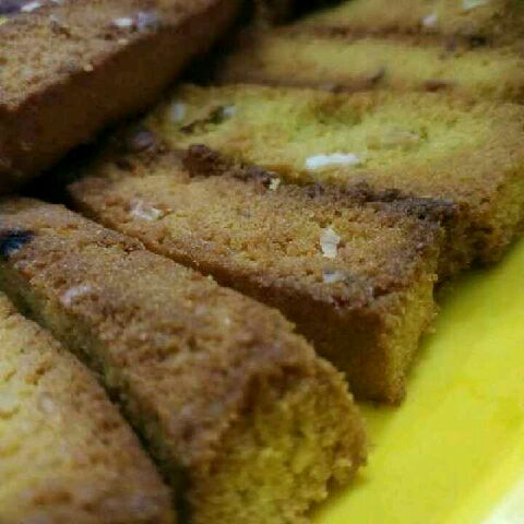 Photo of Nuts wheat cake tea rusk by Waheetha Azarudeen at BetterButter