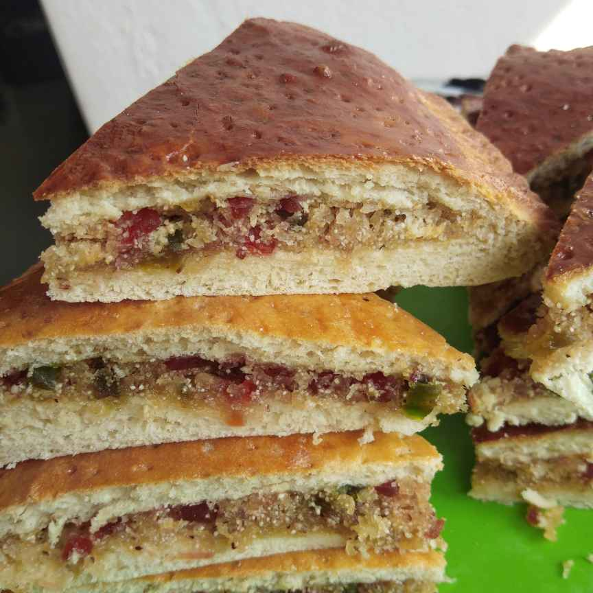 How to make Bakery style dilkush