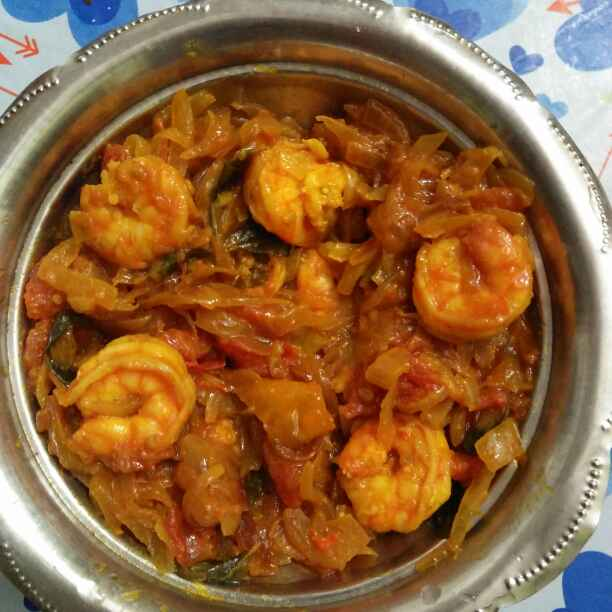 Photo of Prawn semi gravy by Wahida Abdul Hameed at BetterButter