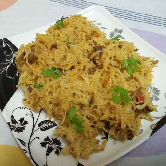 Photo of mutton mince vermicelli biryani by Wahida Abdul Hameed at BetterButter