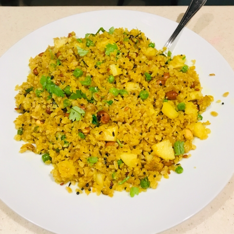How to make Flattened Rice Upma / Poha Upma
