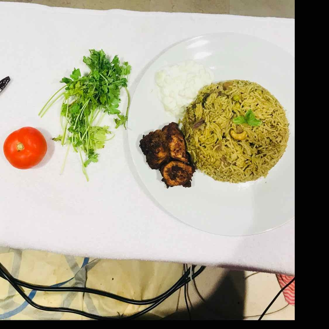 Photo of Mint Chicken Pulao by Wajithajasmine Raja mohamed sait at BetterButter