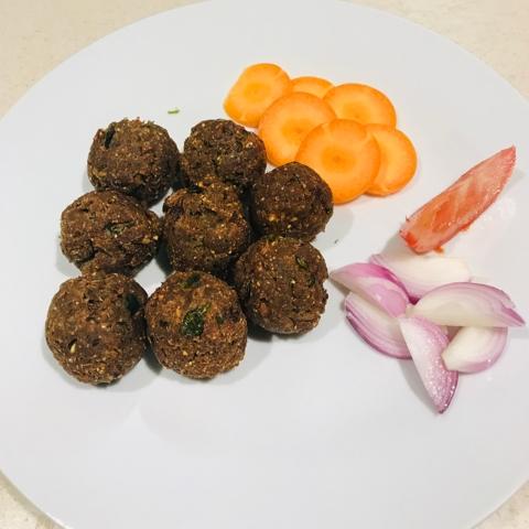 How to make Mutton Kola Urundai / Minced Meat Balls