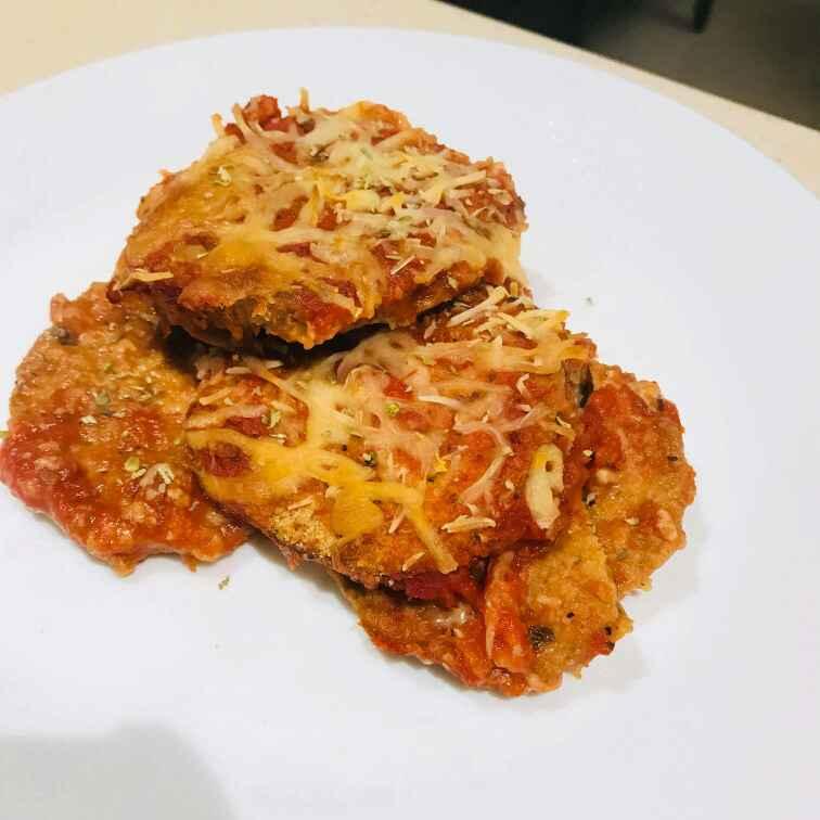 Photo of Baked Eggplant Parmesan cheese by Wajithajasmine Raja mohamed sait at BetterButter