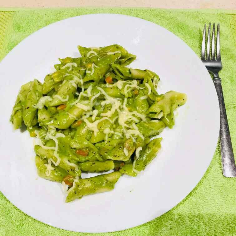 Photo of Spinach vegetable pasta by Wajithajasmine Raja mohamed sait at BetterButter