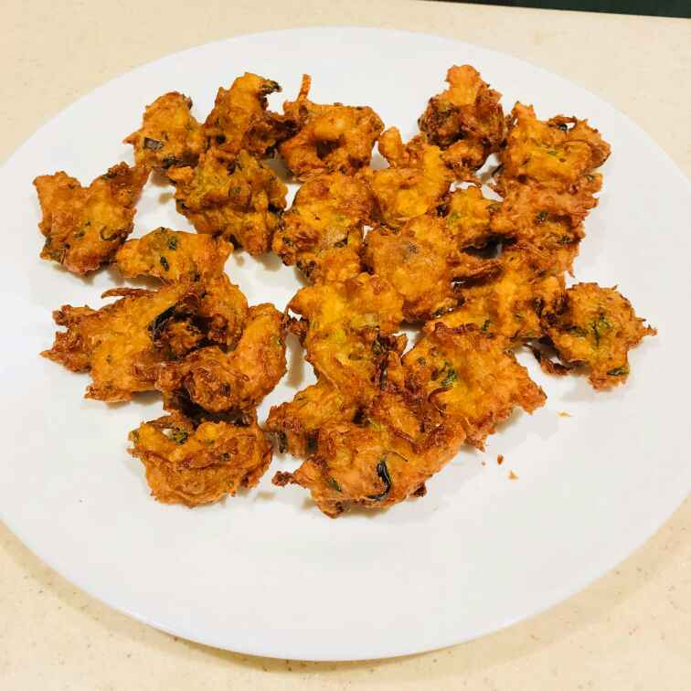 How to make Crispy chicken pakora